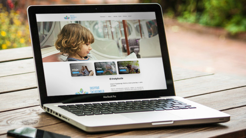 instytut świadomego rodzica - strona internetowa, web design, wordpress