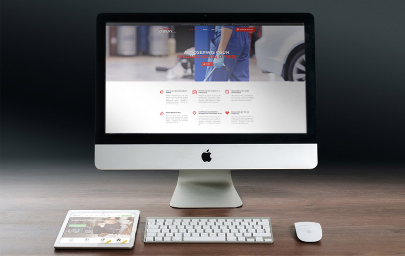 osun.pl - projekt strony, realizacja, web design