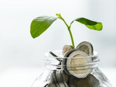 Macro shot of financial concept